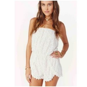 Free people romper.